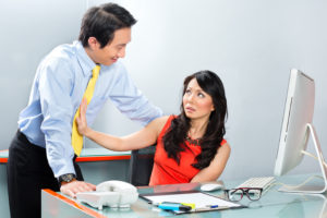 Asian Employee or secretary getting manager or business man sexu