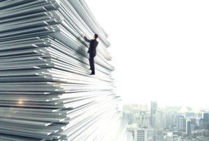 Businessman Climbing Up