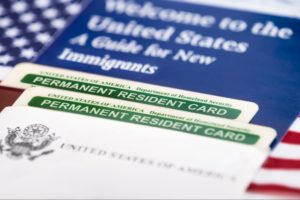 United States Of America Permanent Resident Card