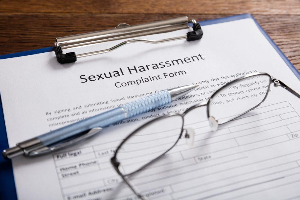 sexual harassment complaint form