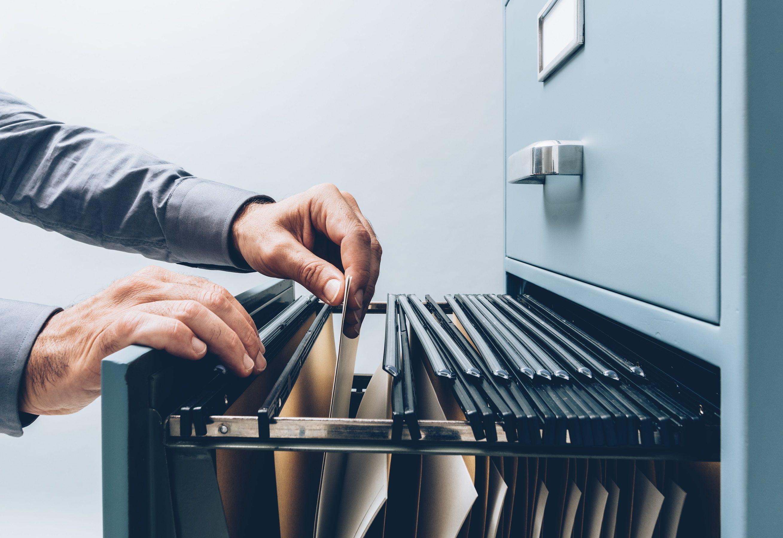 looking at files